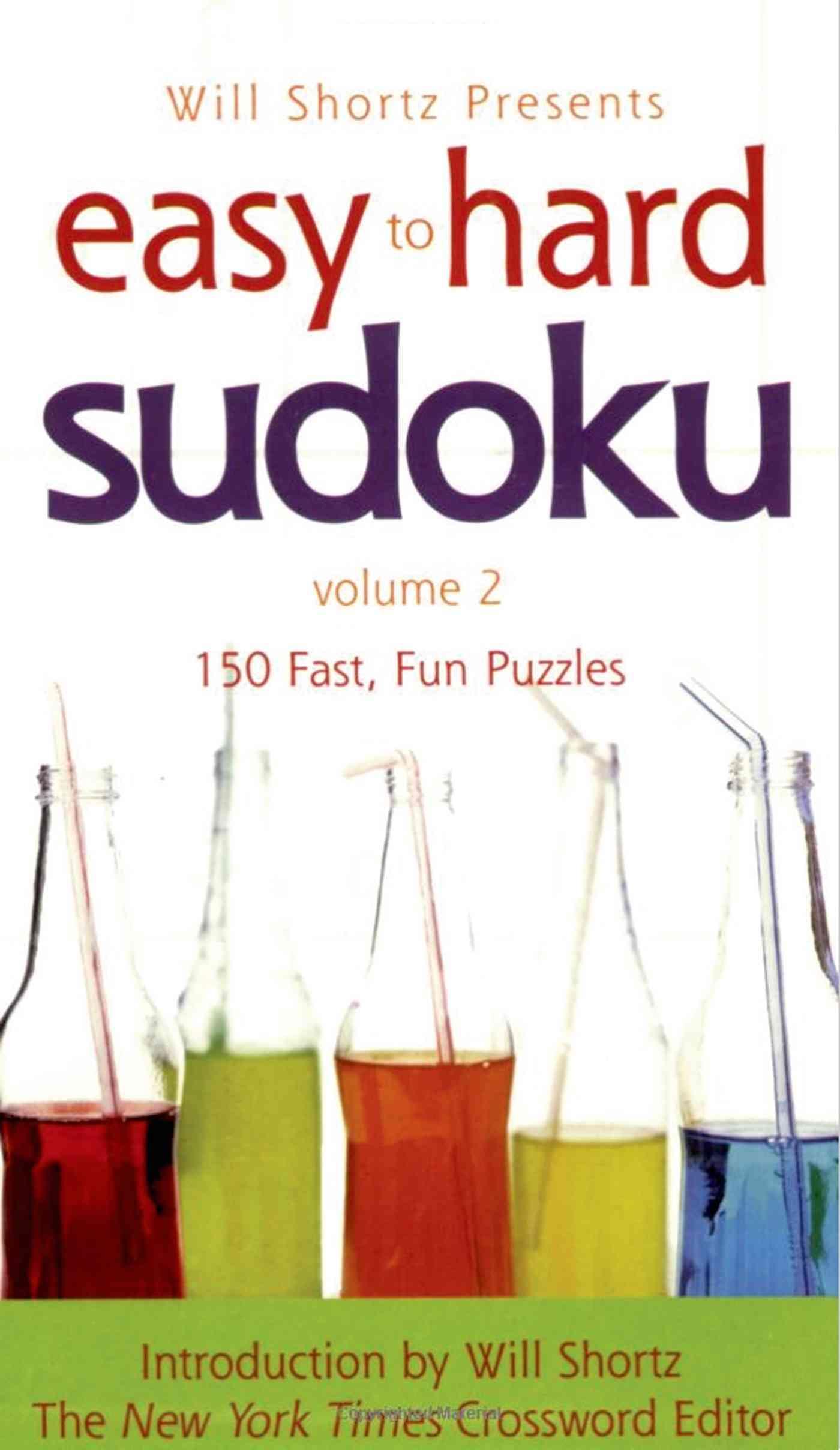 Easy to Hard Sudoku By Shortz, Will